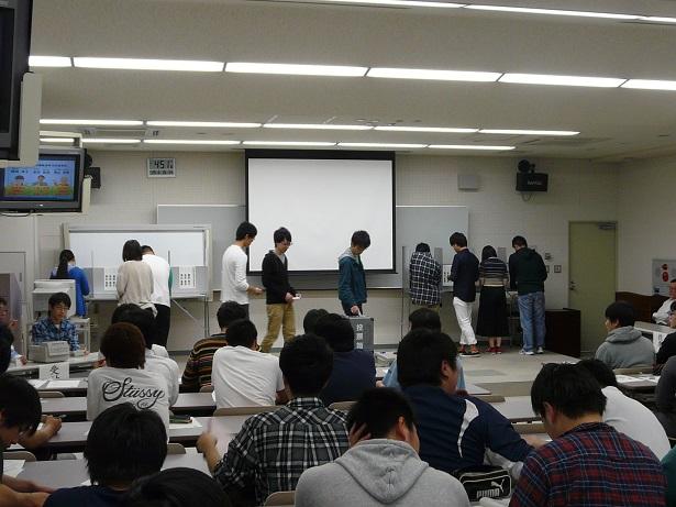 18歳選挙権出前講座(模擬投票)