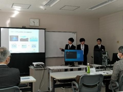 令和元年度清水賞審査会 「特別賞」受賞(電子情報科)