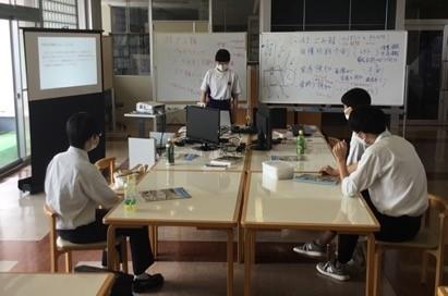 酒田光陵高等学校情報科の生徒さんとのワークショップ(情報通信システム科)